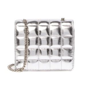 French Connection Laine Silver Crossbody Bag